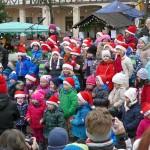 Nass und kalt: Leimener Weihnachtsmarkt verzeichnet geringeren Besucherandrang