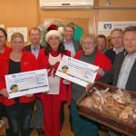 Lions Club unterstützt Tafel und AWo-Lädle Sandhausen mit insgesamt 7.000 Euro