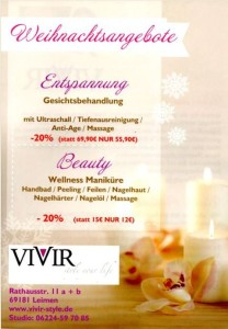 Christmas VIVIR Plakat 480