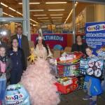 Aktion Spielzeug für Flüchtlingskinder: Powershopping mit der Stadtprinzessin