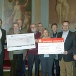 Benefizkonzert für Flüchtlingshilfe Leimen: 2.600 € als Spende übergeben