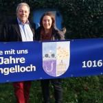 Gauangellocher Jubiläumsjahr: Banner an Ortseingängen zur 1000-Jahrfeier
