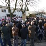 Aramäer weihen Denkmal zur Erinnerung an Genozid von 1915 in Leimen ein