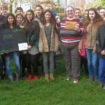 Spendenaktion Klasse 7b Realschule Leimen zugunsten der Leimener Tafel