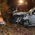 Lattweg Sandhausen: </br>Verkehrsunfall mit schwer verletzter Person