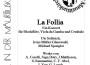 17. Januar: La Follia – Konzert für Blockflöte, Gambe und Cembalo