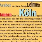 Flüchtlingshilfe Leimen: Araber aus dem Camp Leimen bedauern Kölner Vorkommnisse