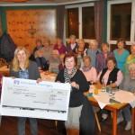 Landfrauen zeigten sich großzügig: 500 Euro für Sozialfonds Leimen