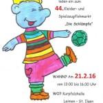 "Flohmarkt ""Schlümpfe"": Anmeldung am 30. Januar"