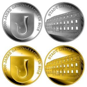 6594 - Medaillen 1000 Jahre GA
