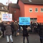 """Demonstration """"Gegen Gewalt"""" auch in Leimen – Teilnehmer mehrheitlich Russlanddeutsche"""