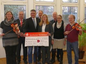 6627 - BdS Spende an Musikschule Leimen