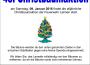 9. Januar: Christbaumaktion der Jugendfeuerwehren Leimen, St. Ilgen und Gauangelloch