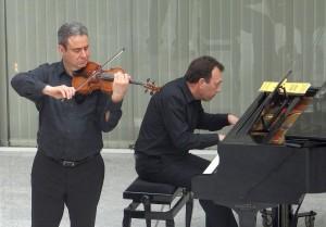3514 - Lehrerkonzert Musikschule 9 Vladimir Rivkin Geige Alexander Burghardt Klavier
