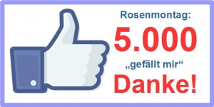 6662 - 5000 Likes auf Rosenmontag