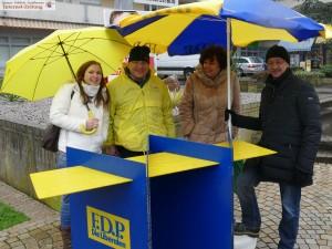 6716 - Wahlkampfstand Dilje FDP
