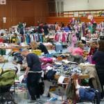 """44. Kinderflohmarkt """"Schlümpfe"""" füllt Kurpfalzhalle – wie immer!"""