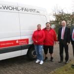 Sparkasse Heidelberg spendet AWO Sandhausen 10.000 € für Transporter
