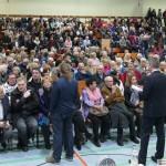 Vorstellung der OB-Kandidaten/in: Großes Bürgerinteresse – proppenvolle Kurpfalzhalle