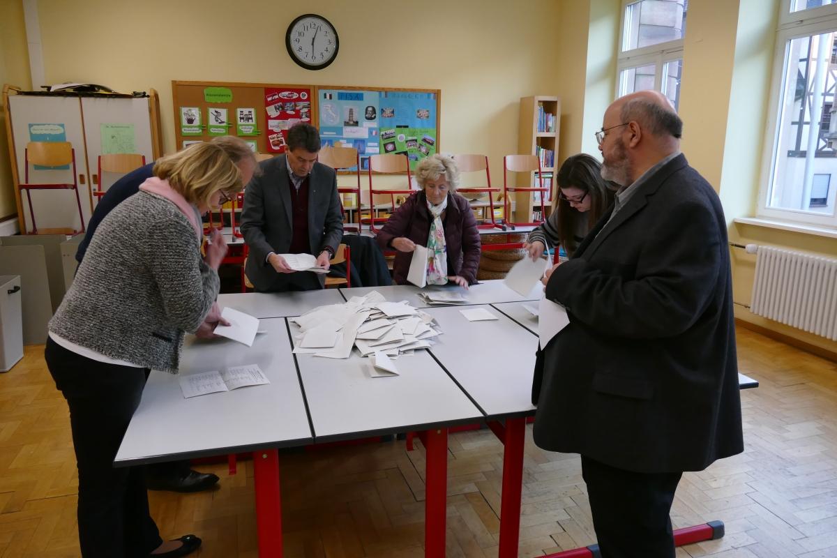 Wahlhelfer für  Europa- und Kommunalwahl gesuchtc