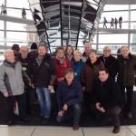 Politische Bildungsfahrt der Sandhäuser SPD in die Bundeshauptstadt Berlin