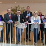 Leimen aktiv stellte neuen Falt-Stadtplan vor: Verteilung an alle Haushalte