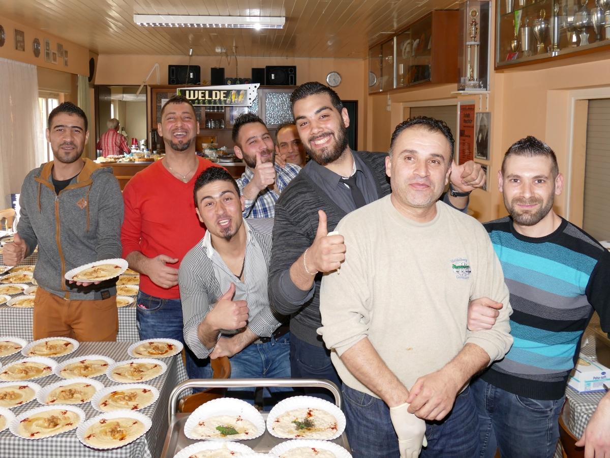 flüchtlinge kennenlernen meghan markle und harry kennenlernen