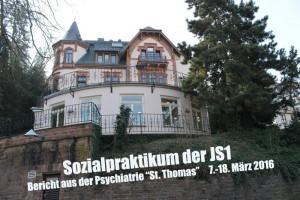 6930 - Sozialpraktikum Thomas