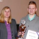 Spitzenschwimmer Maik Böpple zum vierten Mal in Folge Leimens Sportler des Jahres