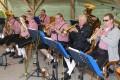 Ausflugsziel Eulenberghof: Musikverein Gauangelloch spielte zum Frühschoppen auf
