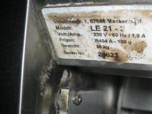7055 - Eiswürfelmaschine