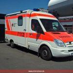 Leimener Rettungswagen bei der DTM im Dauereinsatz