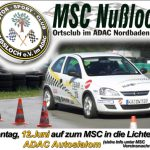 12. Juni  – ADAC Automobil-Clubsport-Slalom beim MSC Nußloch
