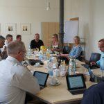 CDU-Kreisrätinnen und –Kreisräte zu Besuch beim Hospiz Agape Wiesloch