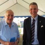 Rudi Sailers 70. Geburtstag: </br>Gratulantenschar reichte bis auf die Straße