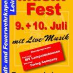 9.+10. Juli: SFK-Musikfest bei der Feuerwehr Leimen