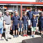 Diljemer Feuerwehrfest gut besucht – </br>OB Reinwald informierte sich vor Ort