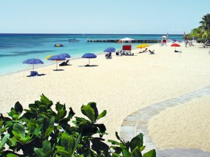 Doctor's Cave Beach Club in Montego Bay auf Jamaika