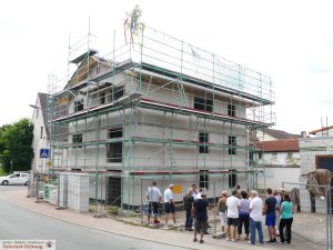 7665 - Wohnbau Richtfest 1