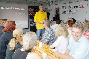 Walldorf. Tierheim Treffen der Tierpaten 2016. 24.07.2016 - Helmut Pfeifer.
