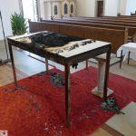 7682 - Brandstiftung Kirche Sandhausen 2