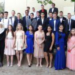 Abschlussschüler der Geschwister-Scholl-Schule ließen die Sektkorken knallen