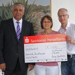 Burg-Apotheke spendete 600 € an Sandhäuser Sozialfonds