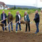Spatenstich im Quittenpfad – Kleingartenanlage in Fasanerie wird erschlossen