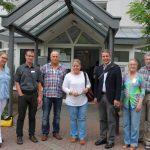 Flüchtlingsunterkünfte: Oberbürgermeister Reinwald verschafft sich Überblick