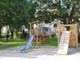 Mehrgenerationen-Spielplatz bietet Trainingsmöglichkeiten für jede Altersgruppe