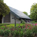 Arbeiten am Dach der Sandhäuser Friedhofskapelle abgeschlossen