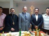 Oberbürgermeister Reinwald besuchte das Aramäische Gemeindezentrum Leimen