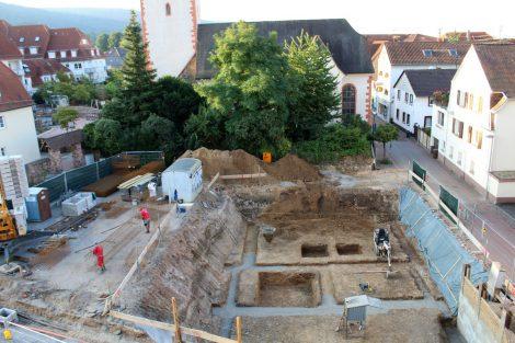 Baustelle in der Leimener Rathausstraße geht voran – Arbeiten im Zeitplan