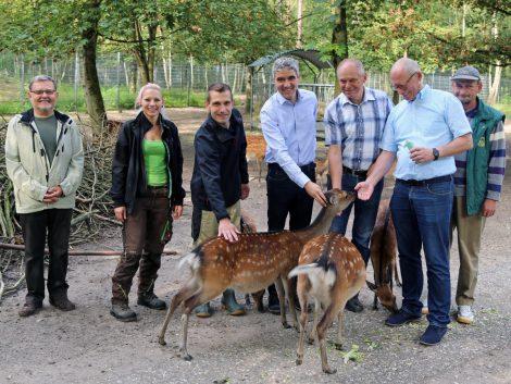 """Ausflugsziel Tierpark Walldorf: """"Jede helfende Hand ist herzlich willkommen"""""""